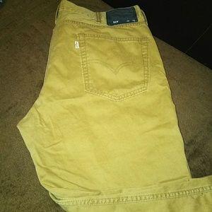 Levi's Jeans - Mens khaki color Levi's jeans